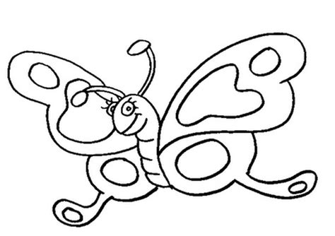 butterfly coloring page for kindergarten butterfly coloring pages preschool coloring home