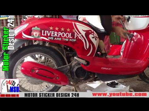 Sticker Scoopy Striping Liverpool honda scoopy liverpool