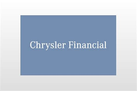 chrysler capital bank chrysler financial looking for buyer autoevolution