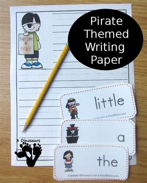 pirate writing paper 193 best blank writing templates images on