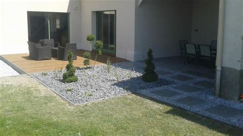terrasse kies keramik stein terrasse mit kies bs holzdesign
