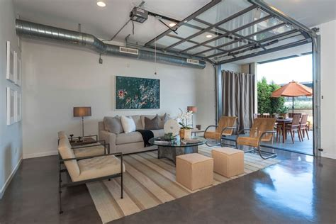 home garages transformed  beautiful living spaces