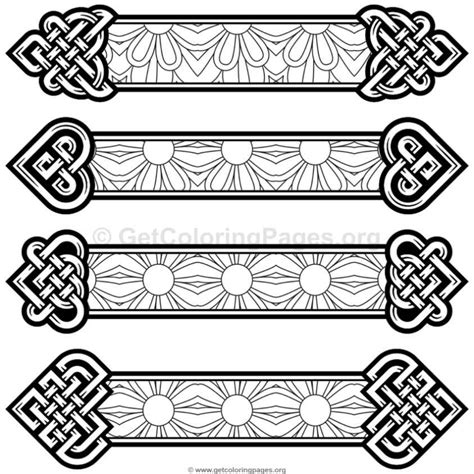 coloring page bookmarks celtic knot bookmarks coloring pages 9 getcoloringpages org