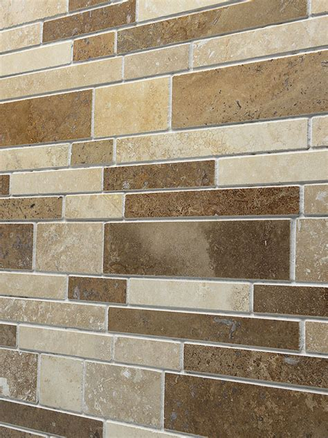 travertine subway mix backsplash tile travertine subway mix backsplash tile for kitchen