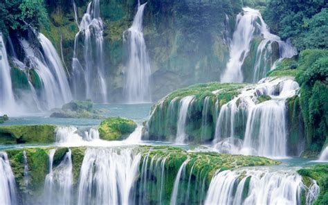 waterfall wallpaper for walls waterfall wallpapers 19641 1920x1200 px hdwallsource com