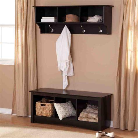 hall tree coat rack storage bench home furniture design