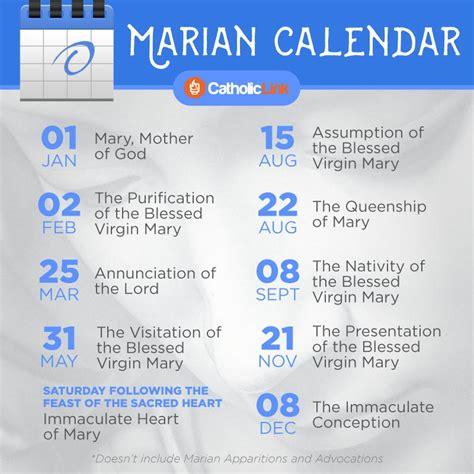 important marian feasts   add   calendar