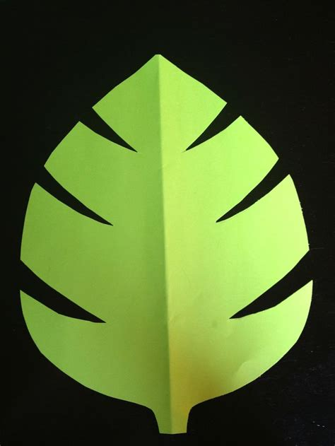 jungle leaf templates to cut out green jungle leaf template comments baby shower decor