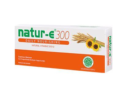 Krim Wajah Natur E natur e nourishing 300iu 4 x 20s gogobli