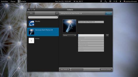 dark themes gnome 3 download delorean dark themes 3 8 linux 09122013