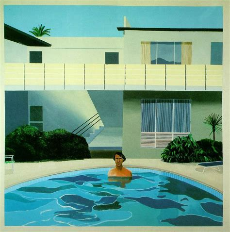 hockney swimming pool paintings paint home design