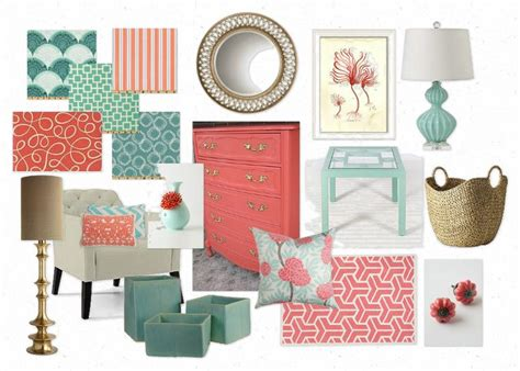 coral color home decor 1000 ideas about coral home decor on pinterest shades
