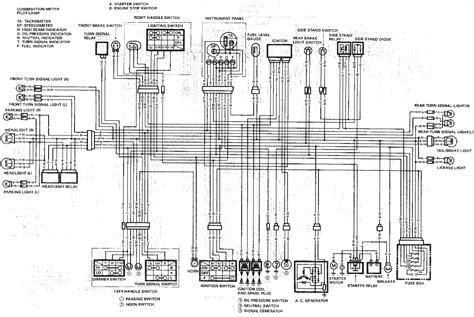 1989 gsxr1100 wiring diagrams diagnose and troubleshoot
