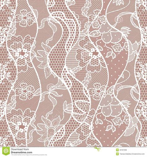seamless pattern lace lace seamless pattern with flowers royalty free stock