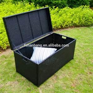 patio storage box waterproof waterproof outdoor cushion storage box modern patio