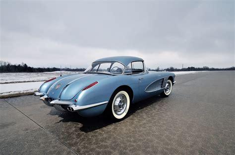 1958 corvette blue 1958 chevy chevrolet corvette c1 283 290 hp fuel