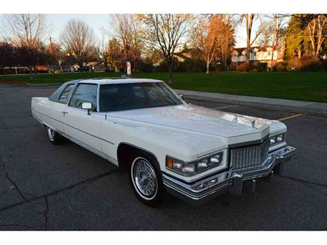 1975 cadillac for sale 1975 cadillac coupe for sale classiccars