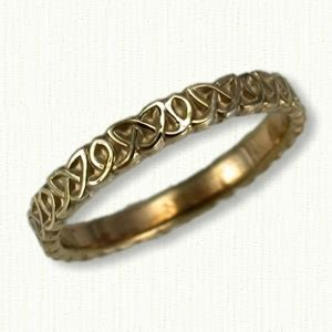 Wedding Bands Kilkenny by Celtic Kilkenny Knot Band Celtic Wedding Rings