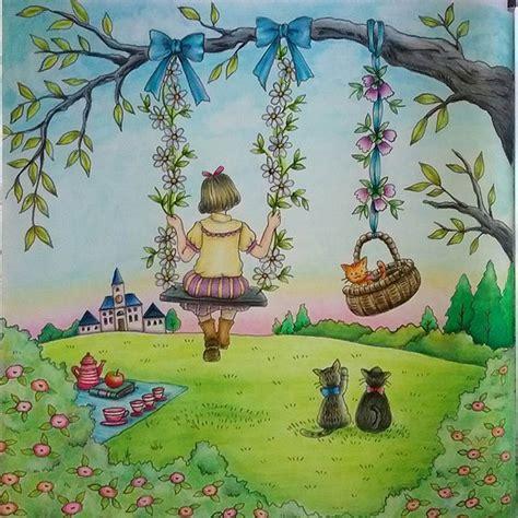 libro romantic country a fantasy mejores 489 im 225 genes de romantic country coloring book en coloraci 243 n adulta libros