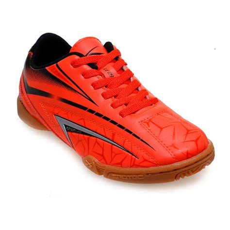 Sepatu Indoor Cassual 1 spotec rx indoor sepatu futsal oranye hitam indo lapak indo lapak