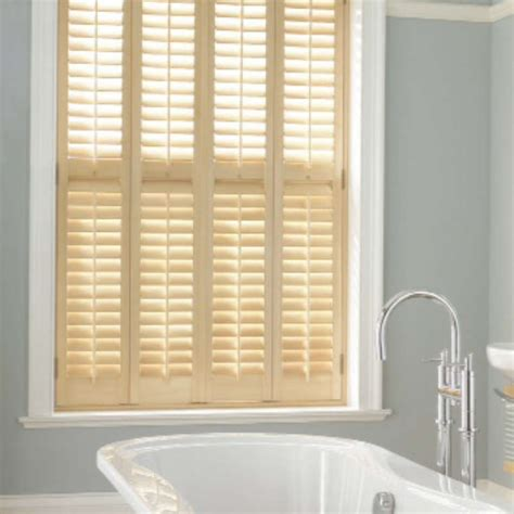 bathroom shutter blinds waterproof window shutters and bay windows winchester