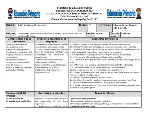 planeaciones cuarto grado bloque 1 primer bimestre ciclo escolar 2014 planeaciones del quinto grado del cuarto bloque del ciclo