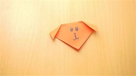 Origami Faces - how to make an origami 5 steps with pictures
