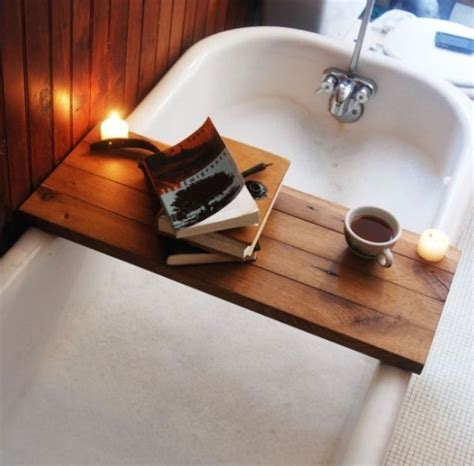 Reading In The Tub In The Bookcase by 15 Bathtub Tray Design Ideas For The Bath Enthusiasts Among Us