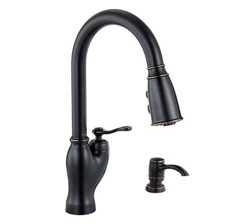 pfister kitchen faucets bronze the clayton design best review the glenfield pull down kitchen faucet from pfister