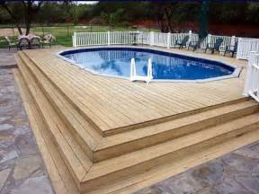 swimming pool decking home remodeling above ground swimming pool deck plans