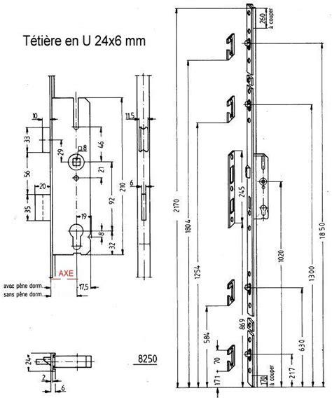 Plan Collection serrue 5 points kfv 8250 447 1