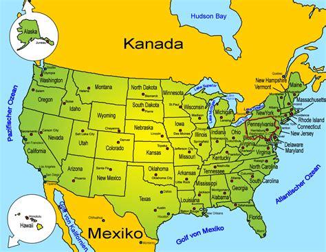 usa map with states pittsburgh sehensw 252 rdigkeiten usa bundesstaaten pennsylvania goruma