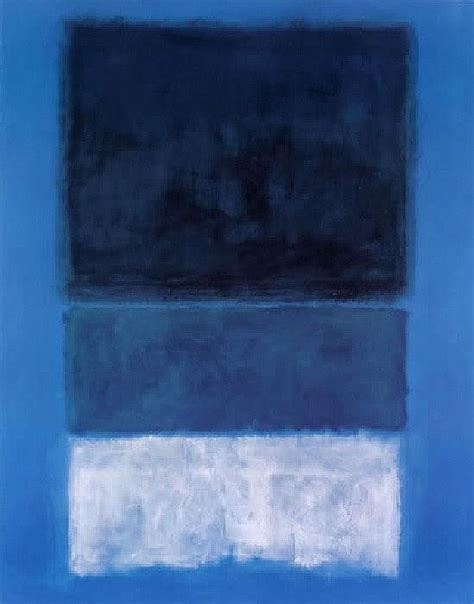 blue and white painting rothko no 14 white and greens in blue 50 artexpress ws
