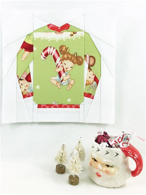 pattern ugly christmas sweater kid giddy aka kerry goulder sewing patterns crafts diy