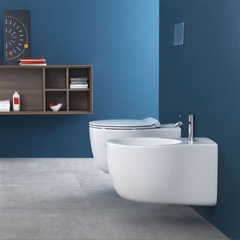 le bidet hatria le fiabe wall hung wc and bidet wall hung rimless