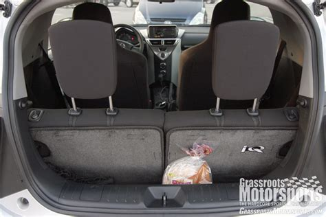 how it works cars 2012 scion iq seat position control 2012 scion iq new car reviews grassroots motorsports