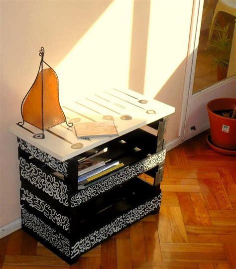 Buro Reciclado by Reciclaje De Cajas De Frutas Ideas Para El Hogar
