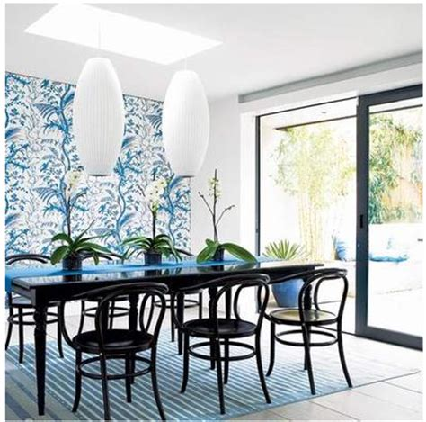 Dining Room Wallpaper Accent Wall by Wallpaper Accent Wall Bossy Color Elliott Interior