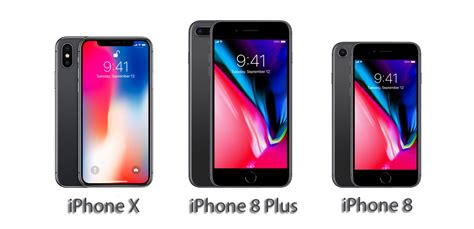 iPhone X vs iPhone 8 Plus vs iPhone 8 [All Detailed Specs