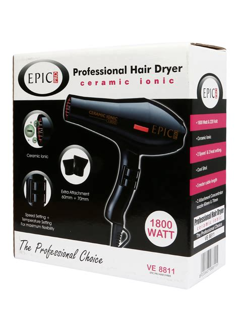Hair Dryer Pakai Baterai epic pro hair dryer pcs klikindomaret