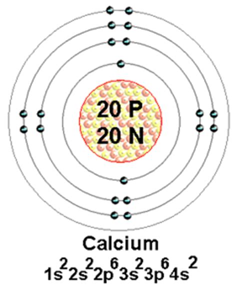bohr diagram for calcium 2nd pg the element calcium