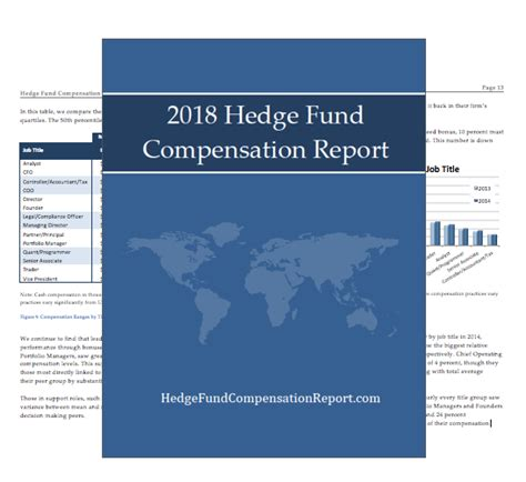 How Completing An Mba Affects Compensation by Hedge Fund Compensation Report Hedge Fund