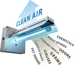 fresh aire apco dual bulb uv light air purifier system