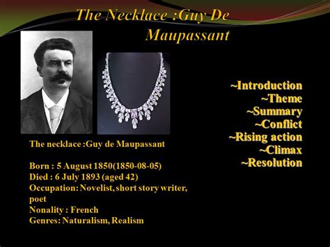 haircut short story analysis short stories the necklace by guy de maupassant the