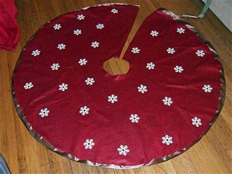 Tree Skirt Pattern Tree Sewing Template