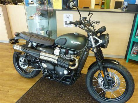 Motorrad Triumph Street Scrambler by Umgebautes Motorrad Triumph Street Scrambler Von Zweirad