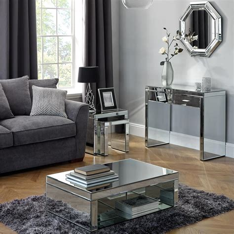 mirror tables for living room mirror tables for living room peenmedia