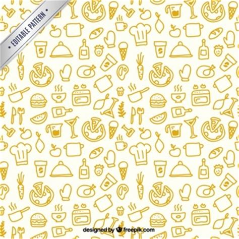 kitchen pattern pizza vectors photos and psd files free download