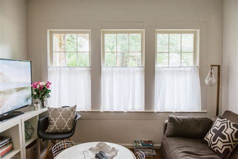 Cafe Curtains For Living Room by Beautiful Linen Caf 233 Curtains For Windows Homesfeed
