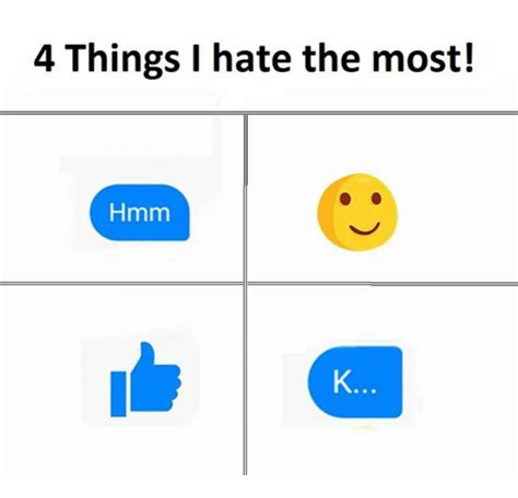Things I by 4 Things I The Most Hmm Hmm Meme On Sizzle